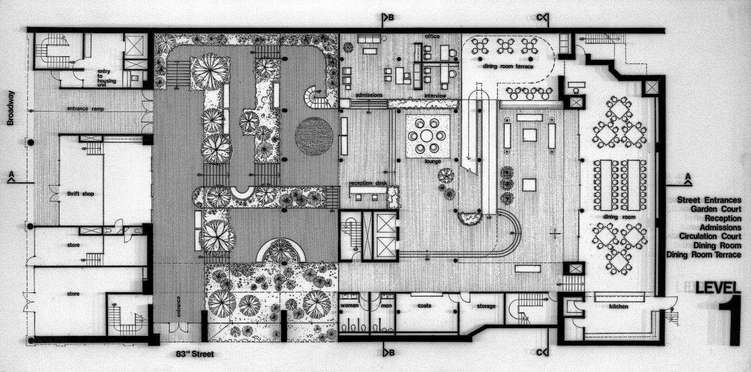 Art School Interior Design Psychiatric Rehabilitation Center